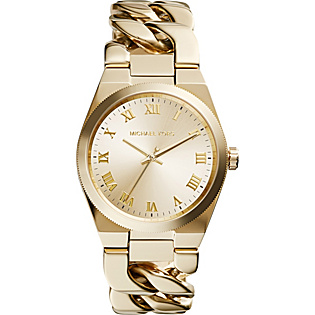 Channing Three Hand Stainless Steel Watch - Gold